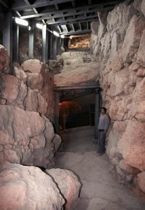 Canaanite Wall fortification-in-cityofdavid