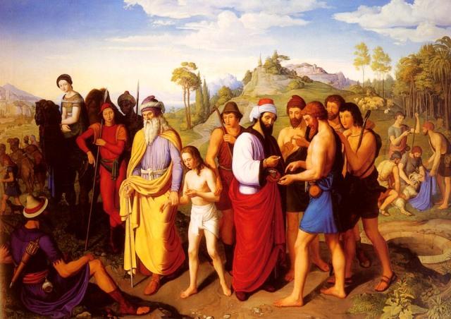 Joseph-Being-Sold-Into-Slavery - Alexander Maximilian Seitz (1811-1888)