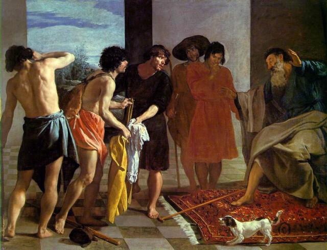 Josephs Coat - Diego_Velázquez 1630