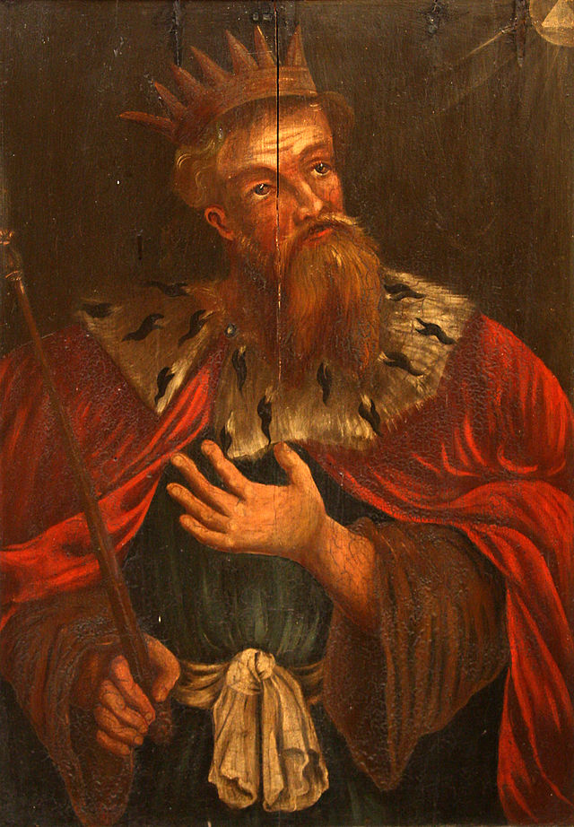 King Hezekiah - Painter Unknown (17th Century)