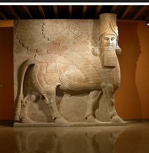 Human-Headed Winged Bull - Lamassu