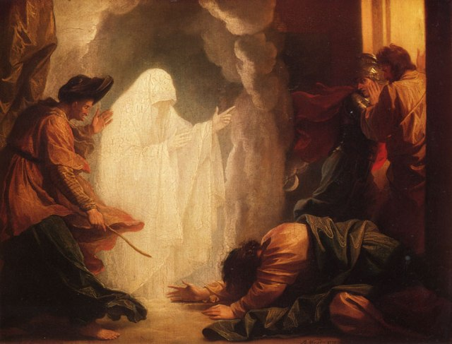 saul-and-the-witch-of-endor-1777 - Benjamin West