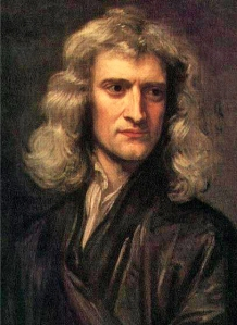 Isaac Newton - by Godfrey Kneller 1689 portrait