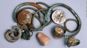 Ancient Coins and Jewelry Found in Israel